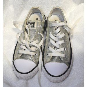 Converse Chuck Taylor Low Rise silver size 12